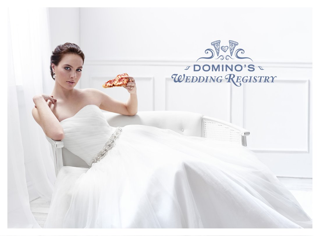 For an Alternative Wedding Registry, Try Pizza!